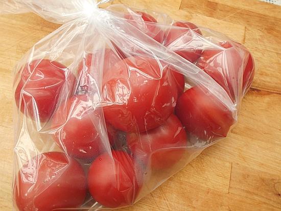 Helpoin ja nopein tapa säilöä tomaatit